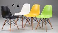 4 x Retro Eiffel   Chair  Dining Retro Designer  -