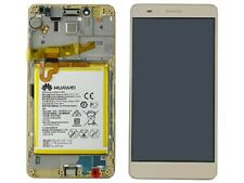 ORIGINALE DISPLAY LCD TOUCH FRAME+BATTERIA PER HUAWEI HONOR 5X KIW-L21 ORO
