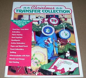 CRAFTWAYS CRAFT BOOK BOOKLET CHRISTMAS TRANSFER COLLECTION 1991