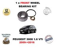 pour Peugeot 3008 1.6 VTI 2009- >2016 1x Kit Roulement Roue Avant
