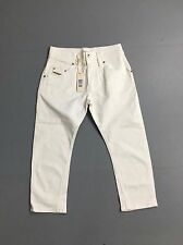 Women's Diesel 'Cropped' Jeans - W26 L22 - White Wash - Brand New with Tags!
