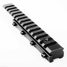 Picatinny Adapter Base Riser Rail Mount 11mm Dovetail Extension to 20mm Weave