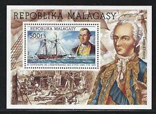 1975 Malagasy Republic Scott #C140 - American Bicentennial Souvenir Sheet - MNH