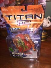 2000 TITAN A.E. POWER CRUSH EXO SUIT AND CALE DELUXE BARND NEW SEALED