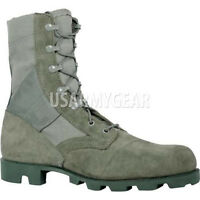 Altama Made in USA Air Force Foliage Sage Green Jungle Combat Boots Panama Soles