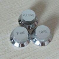 Northwest Guitars Volume /& Tone Knobs to fit Fender Stratocaster Relic White