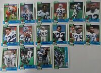 1990 Topps Seattle Seahawks Team Set of 16 Football Cards