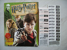 Panini: Harry Potter - Heiligtümer des Todes - Teil 1, Satz + Leeralbum, rar !!!