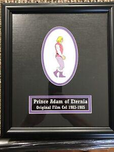 He-Man MOTU Adam Prince Original Production Animation Cel Custom Framed Amazing