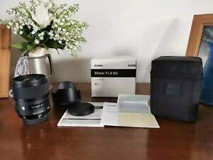 Sigma 35mm f/1.4 DG HSM Art Lens for Nikon