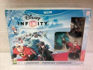 Disney Infinity Wii U Starter Pack Sully Mr Incredible Captain Jack UK PAL New