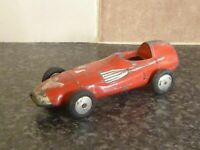 VINTAGE CORGI TOYS No.150S VANWALL RACING CAR RED BODY SILVER NOSE & EXHAUST
