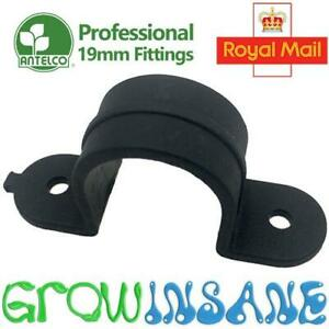 Saddle Clamp Clip - 19mm LDPE Pipe Tube Hose Garden Irrigation Tidy Professional