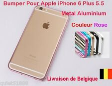 BUMPER METAL ALUMINIUM HOUSSE COQUE étui  POUR IPHONE 6  Plus Rose
