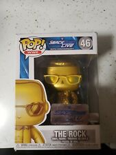 Funko Pop The Rock Gold