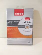 MAXELL DVD/CD Lens Cleaner System  Gaming/Audio/Video Player Cleaning Kit New