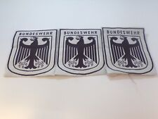 Lot of 3 German Armed Forces Patches