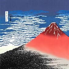 Furoshiki AKAFUJI roter Fuji hergestellt in Japan Tuch Mitteldecke Geschenk Deko