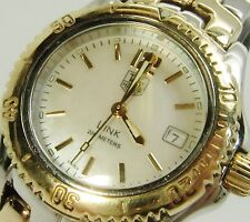 Genuine Tag Heuer Link Two-Tone Quartz WT1355 Ladies Watch