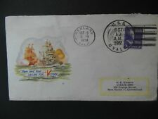 cover Oakland California USA October 13th 1951 addressed Connecticut used.
