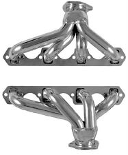 Small Block Ford 221-302 Blockhugger Plain Steel Exhaust Headers