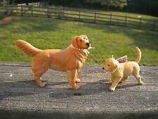 Golden Retriever & pup by Safari Ltd; toy/dog