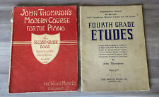 John Thompsons Modern Course For The Piano Second Grade Book  1937 & 4th Grade
