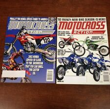 LOT OF 2 2001 MOTOCROSS ACTION JULY - AUGUST 125 250 450 SHOOTOUT TWINSHOCK VMX