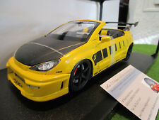 PEUGEOT 206 CC PROJET PROJECT 04 cabriolet TUNING 1/18 NOREV 184741 miniature