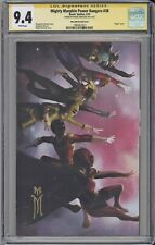 Might Morphin Power Rangers #38 CGC SS 9.4 Mercado virgin variant cover BOOM!