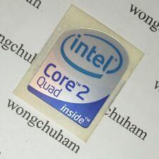 Intel Core 2 Quad Sticker 19mm x 24mm - Desktop Size