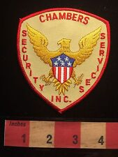 CHAMBERS Security Services Inc. Officer Guard Patch C646