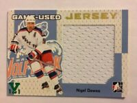 2006-07 ITG Heroes & Prospects Game-Used Jersey Gold Nigel Dawes Vault Green 1/1