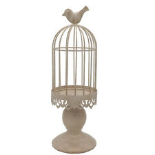 Metal Bird Cage Candle Holder Candlestick Hanging Lantern Gift Home Decor