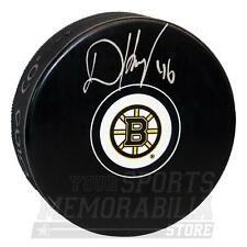 David Krejci Boston Bruins Signed Autographed Bruins Hockey Puck