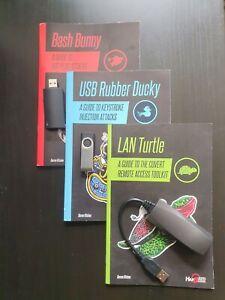hak5 hackers tools combo / turtle, bunny, duck /