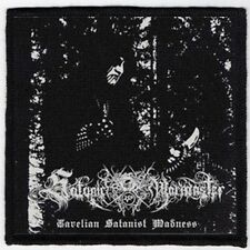SATANIC WARMASTER PATCH / SPEED-THRASH-BLACK-DEATH METAL