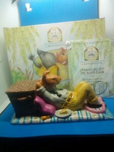 Royal Doulton Wind In The Willows Figure 'Sprawling By The River Bank' Boxed...