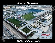 San Jose - AVAYA STADIUM - travel souvenir FLEXIBLE fridge magnet