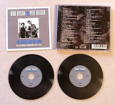 BOB DYLAN VS PETE SEEGER - THE SINGER ANS THE SONG / DOUBLE CD ALBUM