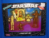 Star Wars Vintage 1993 Bend-Ems Four Figure Set MIB