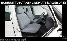 Toyota Landcruiser 70 Series Front Canvas Seat Covers Workmate GXL GENUINE NEW