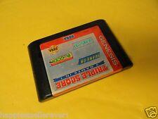 Sega Genesis Game Triple Score for the Sega Genesis System