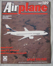 Airplane Issue 189 SPAD S.VII to S.XIII Cutaway drawing & poster, Ansett