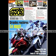 MOTO REVUE N°3470 YAMAHA FJR 1300 TRIUMPH TROPHY KAWASAKI 750 ZEPHYR BORILE 2001