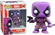 Deadpool Rainbow Squad Purple Terror POP! Marvel #143 Vinyl Figur Funko