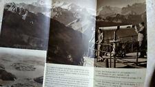Dépliant touristique ca.1950 - STANSERHORN bei LUCERNE - FUNICULAIRE BAHNFAHRT
