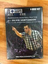 All Access Basketball Practice with Silvio Santander (Spanish) 4 Disc Set