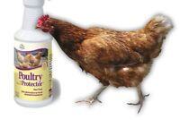 Manna Pro Natural Poultry Protector From Flea Mite & Tick For Birds & Coops 16oz