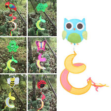 1x Animal Spiral Windmill Colorful Wind Spinner Lawn Garden Yard Outdoor Deco RT